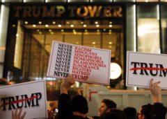 Митингующим против Трампа платят $50 в час