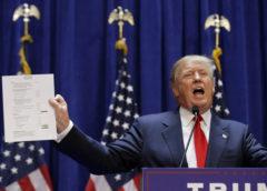 Трамп придумал слоган для своей избирательной компании 2020 года