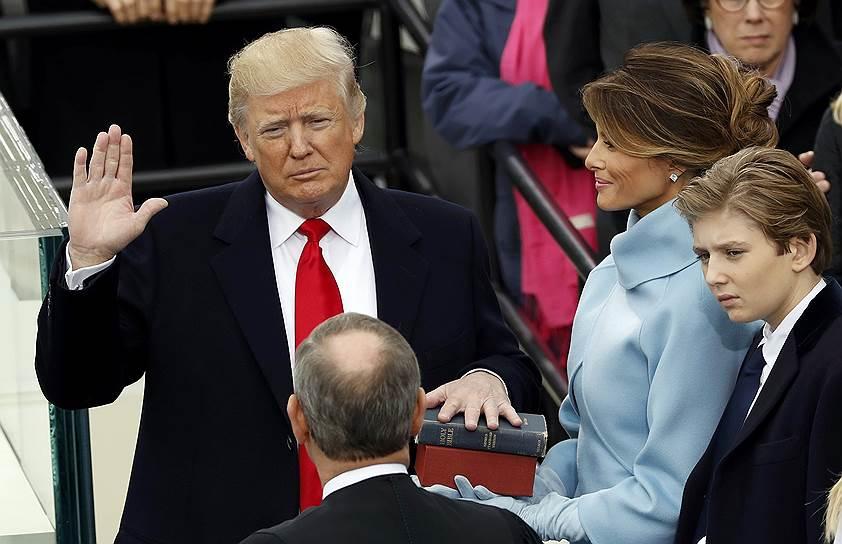 Присяга Трампа