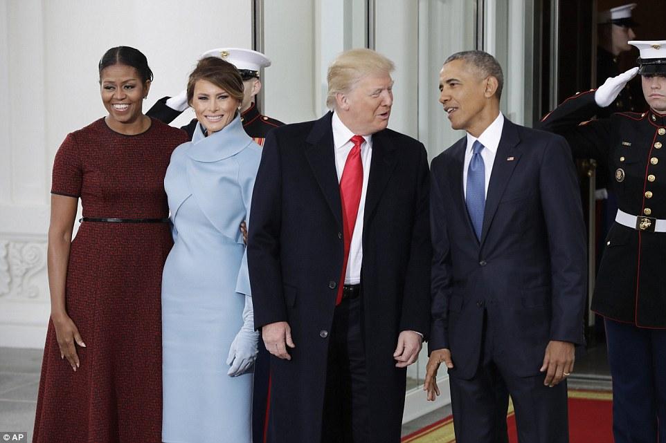 Чаепитие Трампа и Обамы